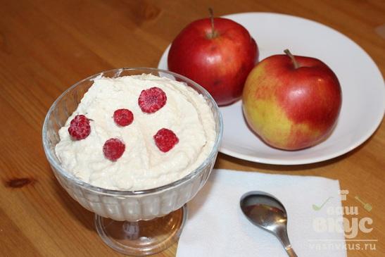 Творожный  десерт с фруктами «Здоровье»
