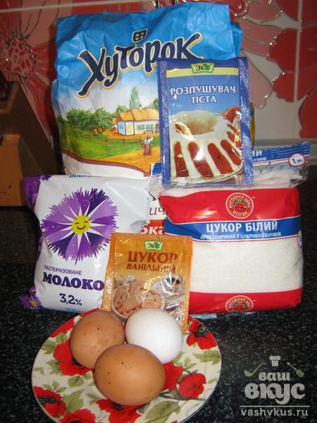 Кексы-капкейки с ванильно-сливочным кремом