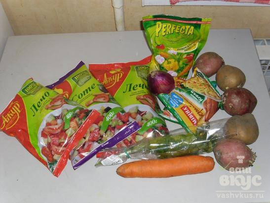 Легкий овощной суп