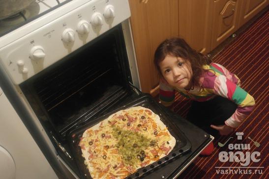 """Пицца """"По просьбе детей"""""""