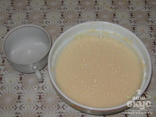 Блины на кефире или йогурте
