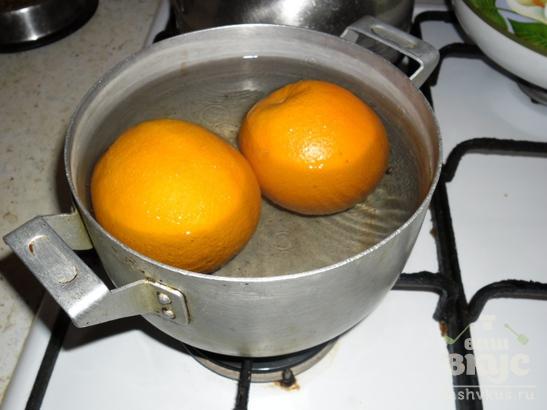 Торт из апельсинов