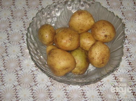 Запечённая картошка по-домашнему