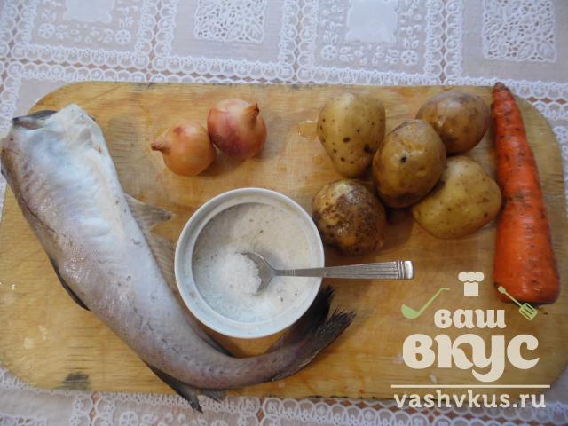 суп из минтая в мультиварке рецепт с фото