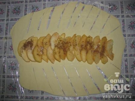 Яблочный штрудель простейший