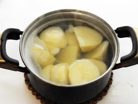 Жульен-подливка с картофелем