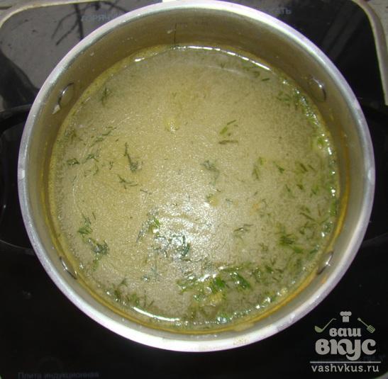Детский суп с пшеном
