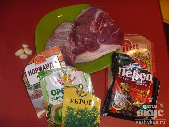 Мясо кабана с клюквенным соусом