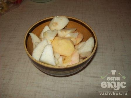 Пирожки с запеченным яблоком