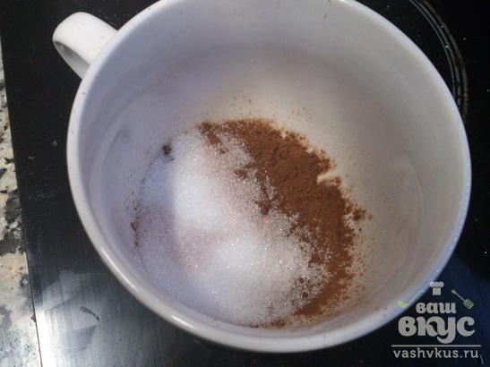 Шоколадный кекс с пропиткой