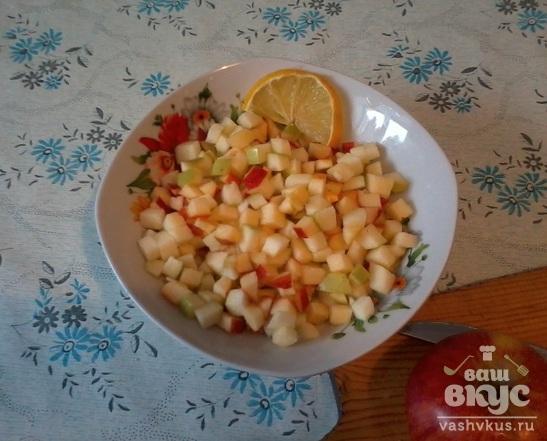 """Салат """"Крабовый с яблоками"""""""