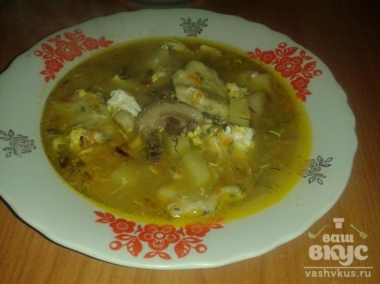 Суп с галушками по казацки