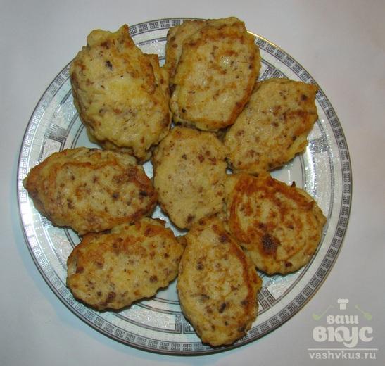 Картофельники с паштетом