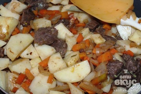 Картофлибже (картофельный соус по-кабардински)