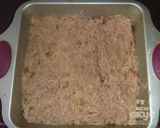 Картофельная бабка по-литовски