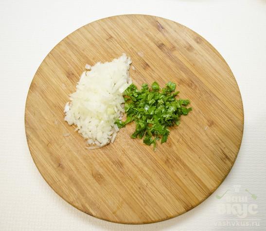 "Салат из репки ""5 минут""."