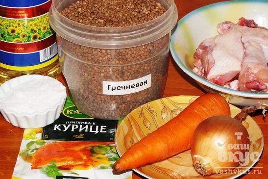 Гречка с курицей пошаговый рецепт
