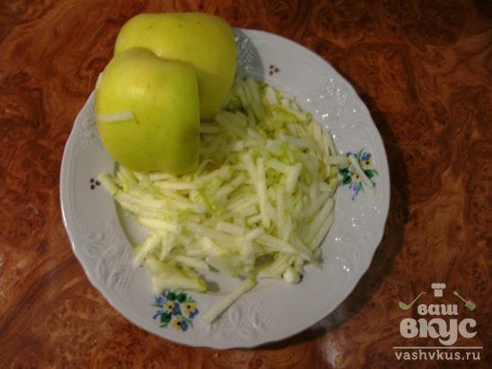 Яблочные гренки