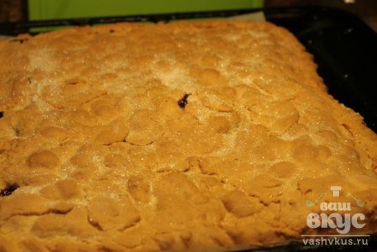Пирог с черной смородиной (Термомикс)