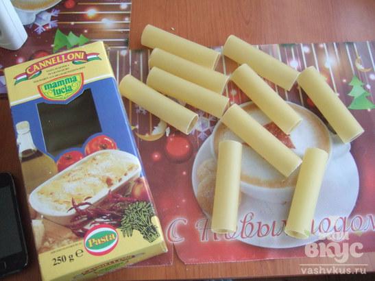 Фаршированные макароны Сannelloni
