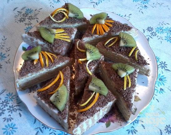 Тортики из печенья