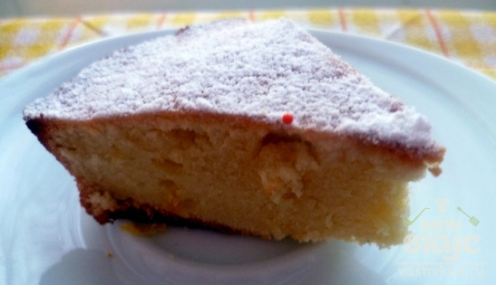 Маленький лимонный кекс