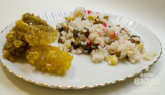 Сладкий рис с мёдом