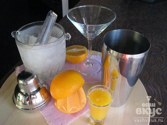 Алкогольный коктейль Rosso Orange