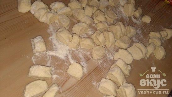 Вкусные вареники с картофелем