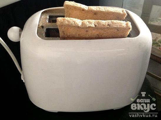 Хлебный тост с авокадо