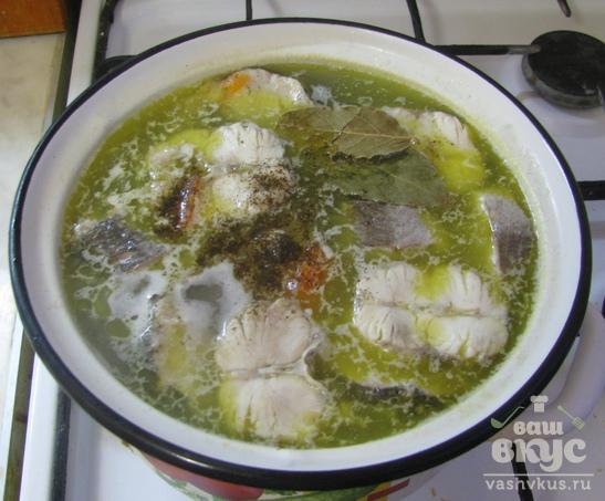 Нежный суп с хеком