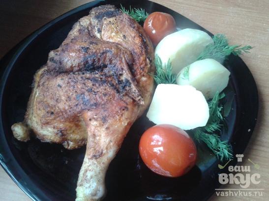 Жареная курица по-грузински