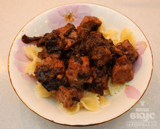 Говядина с черносливом в мультиварке редмонд рецепты с фото