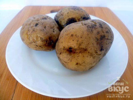 Салат с селедкой, картофелем и яйцами