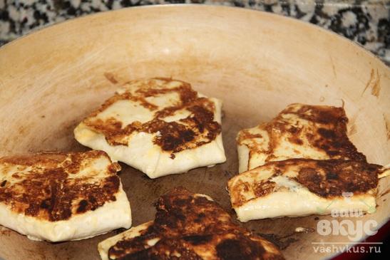 Горячие бутерброды в тортилье