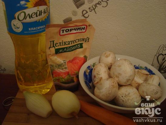 Жареные грибочки (шампиньоны)