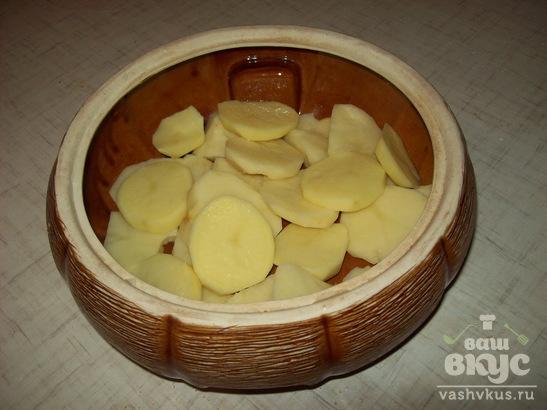 Рыба запеченная с картофелем
