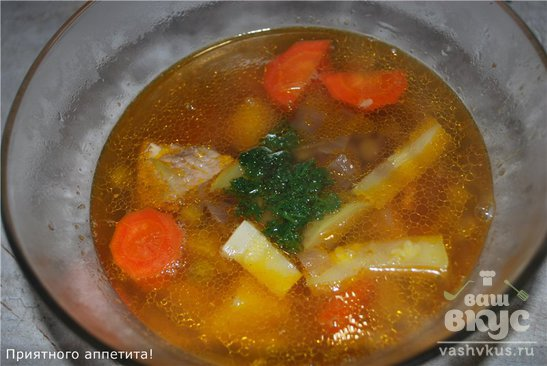 Суп с зеленым горошком консервированным горошком рецепт с пошагово