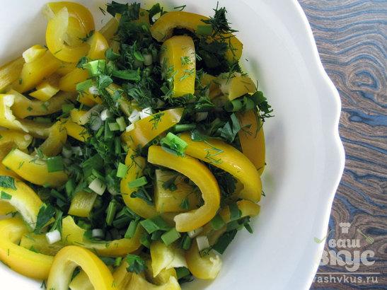 Овощной салат «Листопад»
