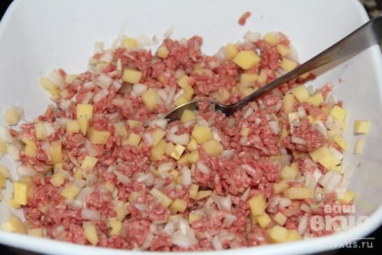 Бурма с мясом