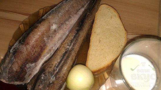 Котлеты из рыбы Хек с молоком