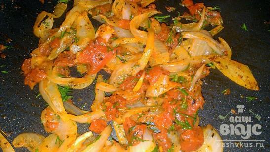 Тальятелле под томатным соусом