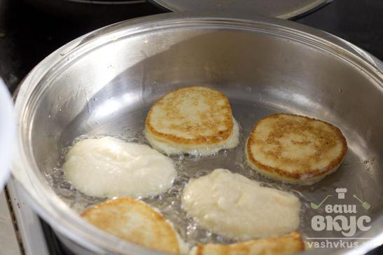 Картофельные блинчики с семгой
