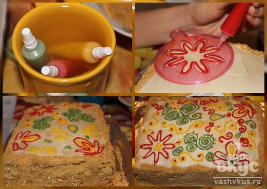 """Торт """"Рыжик"""" классический"""