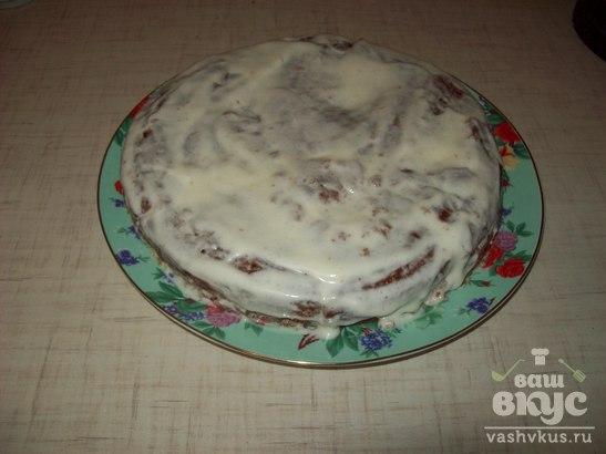 """Торт """"Негр в сметане"""""""