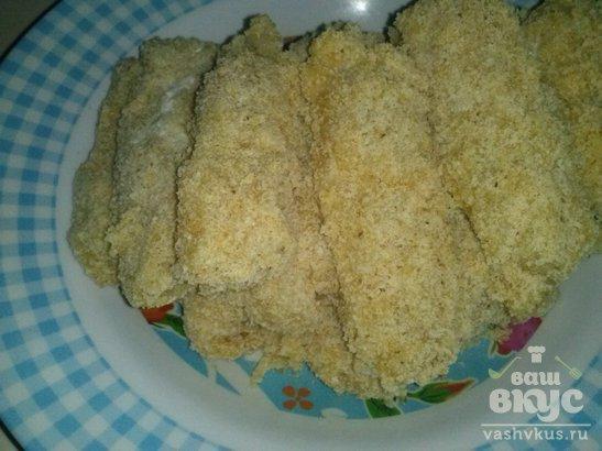 Рыбные палочки из пангасиуса