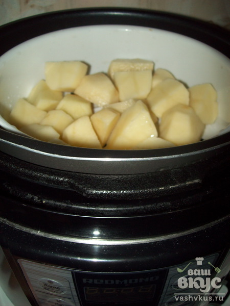 Зразы с сырной начинкой в мультиварке