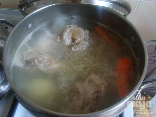 Суп из пельменей