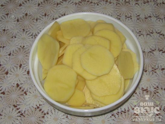 Гратен картофельный