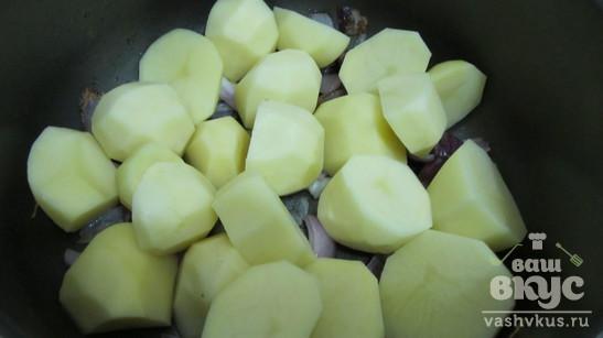 Суп-пюре из тыквы, картофеля и кабачков